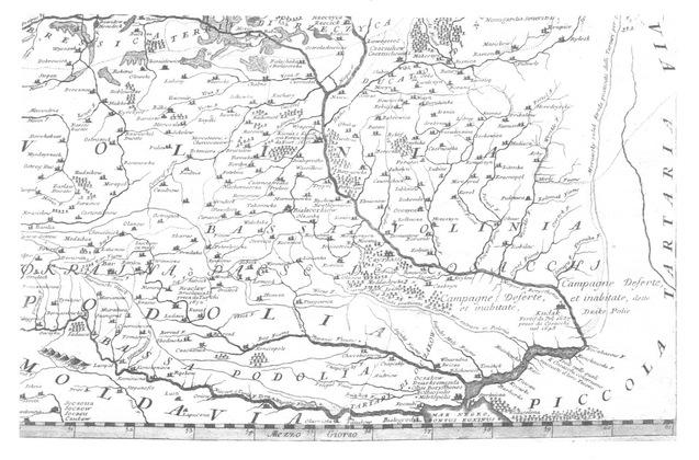 Волинь-Україна, карта