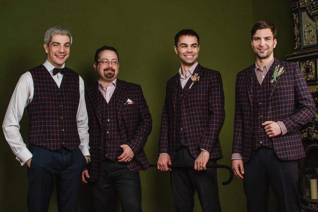 Нова колекція чоловічих костюмів Баро від українського бренду ZHURAVEL   1 1.