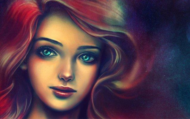 дівчина (ілюстрація)
