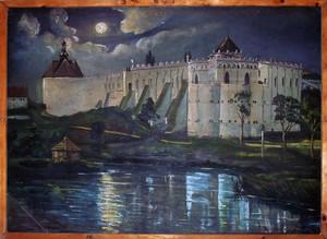 Меджибізький замок картина