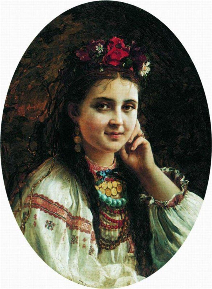 Русские женщины в масле 26 фотография