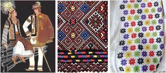 вишиванки, Закарпаття, орнамент