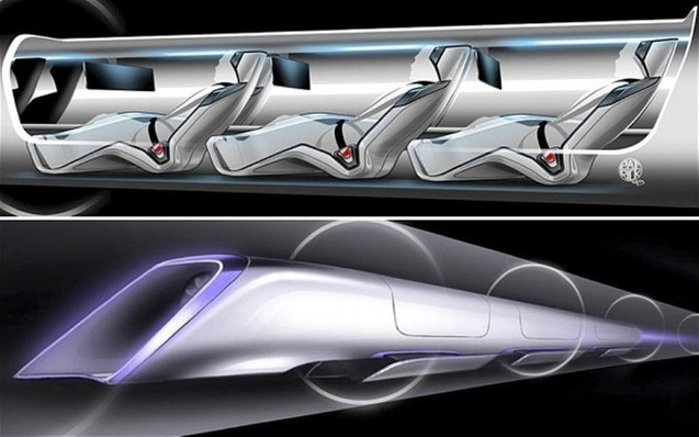 Транспортна система Hyperloop