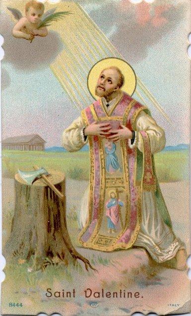 Святий Валентин ілюстрація