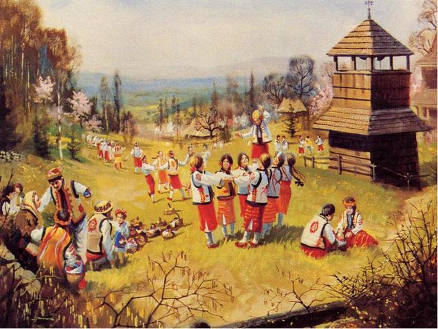 Великодні гуляння українські традиції