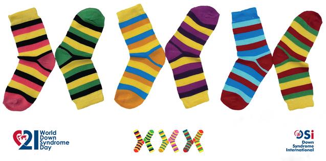 День кольорових шкарпеток