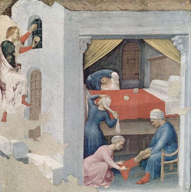 Святий Миколай, людина, історія