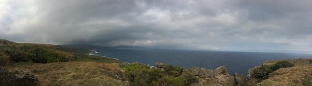 Кентін, океан