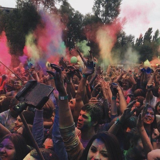 Фестиваль фарб ХОЛІ, фото