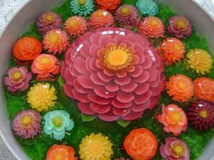 3-D квіти з желе