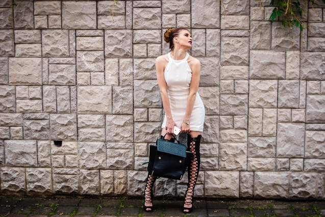 plastylina fashion blog - lace up trend 2016