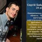 Сергій Байдовський Небесна сотня