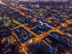 Українець показав унікальні фото Києва з висоти пташиного польоту
