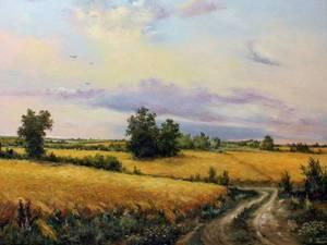 Затишні пейзажі українського художника Юрія Пацана