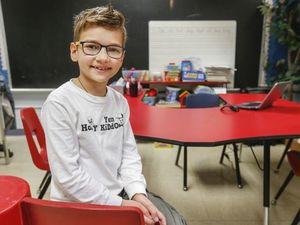 Український хлопчик став справжньою зіркою школи в Міссурі