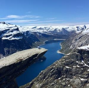 Норвегія: подорож туди і назад