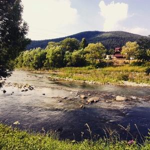 Travel Through Ukraine. Carpathian Mountains