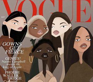 Ілюстрації українського художника прикрасили обкладинку Vogue UK