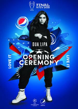 Дуа Ліпа виступить на церемонії відкриття фіналу Ліги чемпіонів УЄФА у Києві