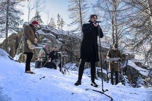 Гурт Друга ріка представив саундтрек до фільму Легенда Карпат