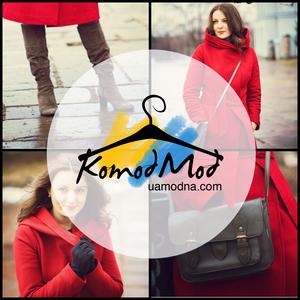 Lady in red - новий стильний образ у Komod Mod
