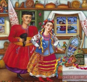 Незвичні звичаї українського подружжя