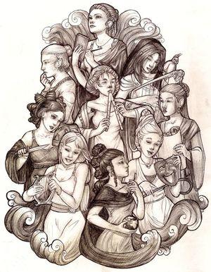9 муз Зевса: хто вони?