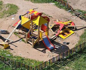 У що перетворилися дитячі майданчики?