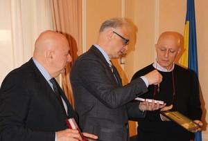 Італійські волонтери нагородженні відзнакою Президента України