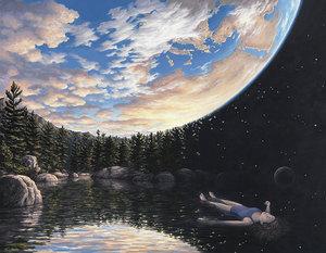 Оптичні ілюзії в картинах Роберта Гонсалвеса