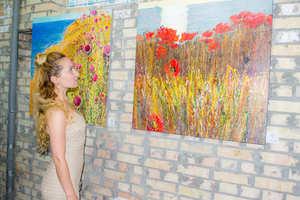 Відкриття персональної виставки Кати Рудакової «Автопортрет жіночності»