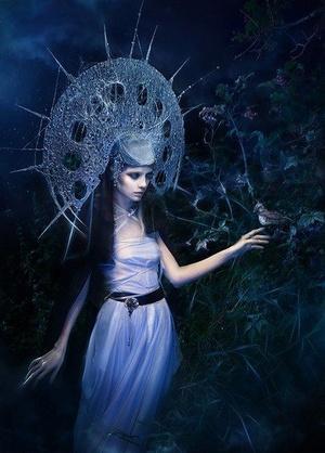 Богиня смерті Мара та її дочки
