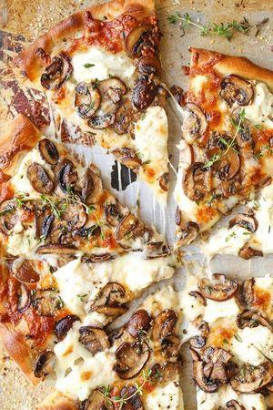 Піца з грибами, від якої ви не зможете відмовитися