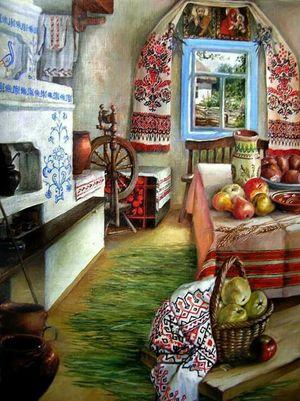 Як українці прикрашали свої хатки в давнину