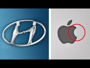 8 Відомих логотипів з прихованим змістом. Таємниці логотипів знаменитих брендів