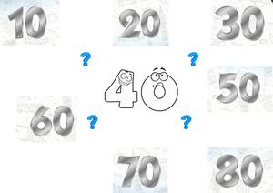Чому двадцять, тридцять, п'ятдесят, шістдесят... але сорок?