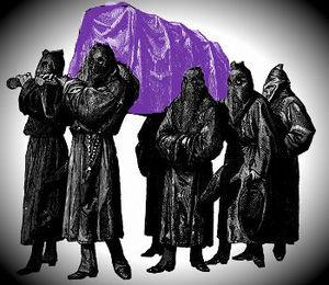 Ярко-фиолетовый гроб или история одного неудачника