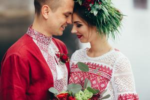 Сучасне весілля в українському стилі 2017