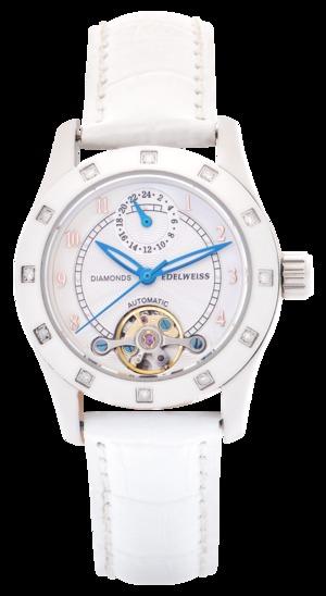 Колекційний автоматичний годинник EDELWEISS Diamond Lady