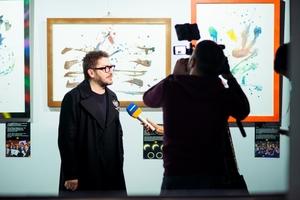 Відкриття неординарної виставки нео-каліграфії в арт-центрі Я. Гретера