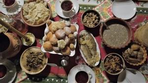 Святий вечір: 12 пісних страв в селі на Прикарпатті (ВІДЕО)
