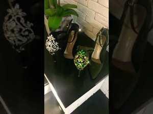Роскошные туфли с камнями от Daminika.