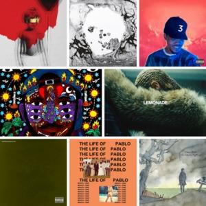 25 найкращих музичних альбомів 2016 року
