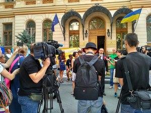 Максим Тимошенко: приклад цивілізованого протесту європейського формату