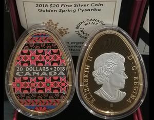 Монети-писанки