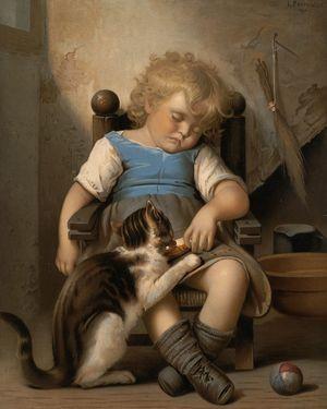 Котяче мистецтво: художники, які віртуозно малювати котів