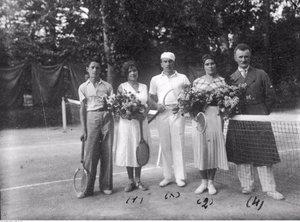 Луцька тенісна мода 1930-х років