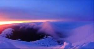 Cвітанок на горі Піп Іван зняли в режимі time-lapse