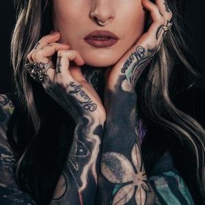 Ідеї Для Татуювань: Floral Tattoo
