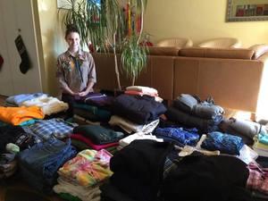 Діаспорянка з Нью-Йорка організувала збір одягу для українців